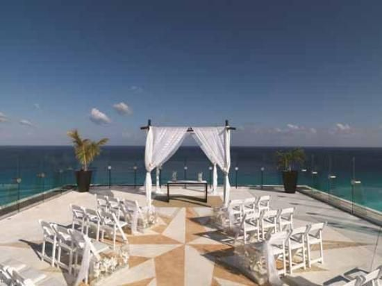 Beach Palace Cancun Rooftop Ocean View