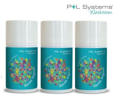Luxury Secret Lagoon Air Freshener Refill Pack Of 3 X 270Ml Pl Magnificent Bathroom Fresheners Inspiration Design