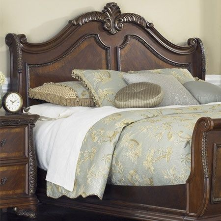 Ornate Carved Wooden Bed Frame Home Sweet Home Bedroom