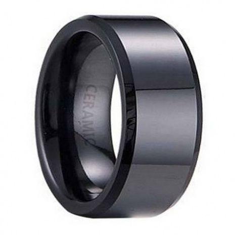 Mens Flat Black Wedding Bands | Wedding Ideas | Pinterest | Weddings