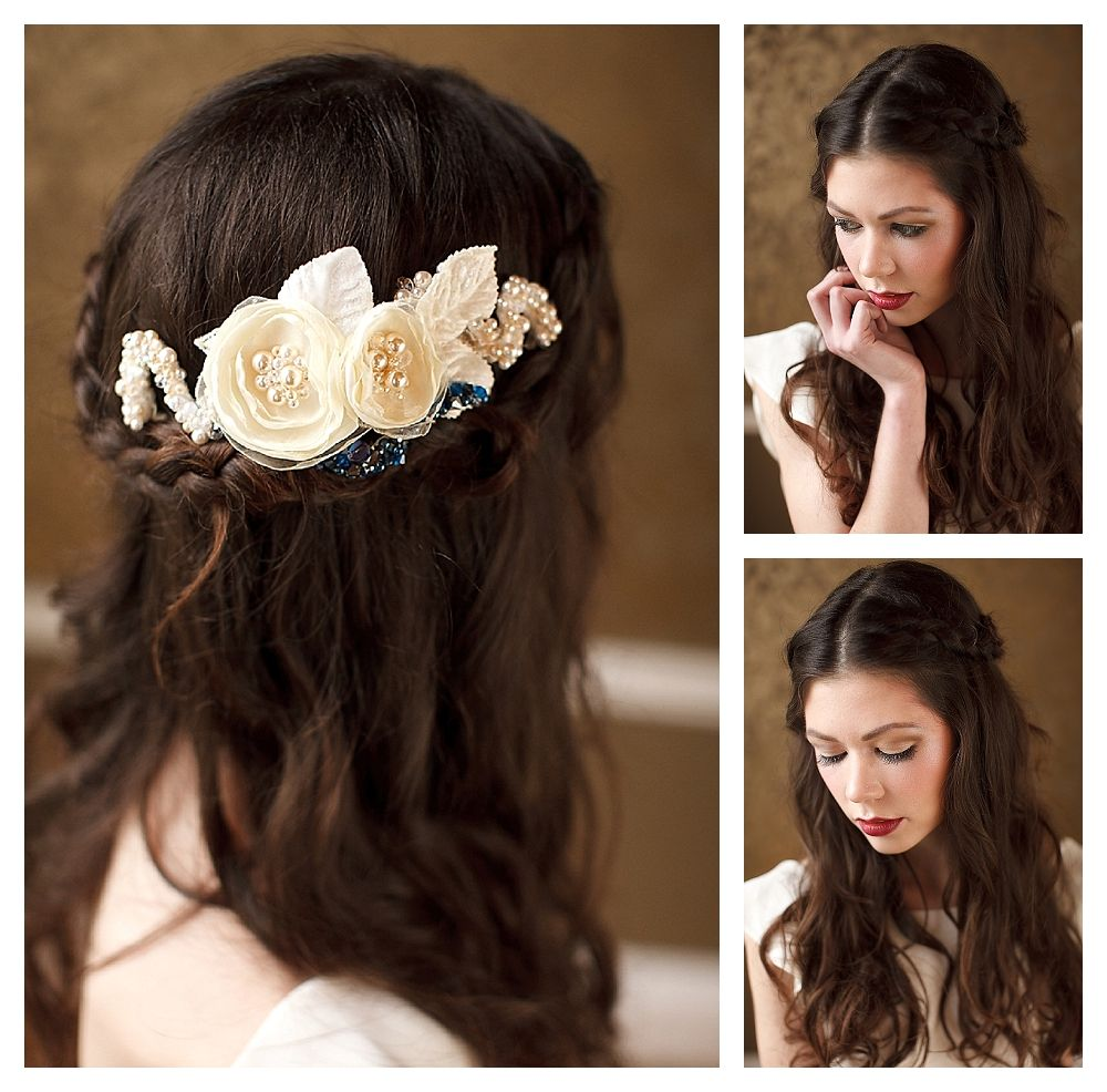 A Tutorial For Bella S Wedding Hairstyle From Twilight Braided