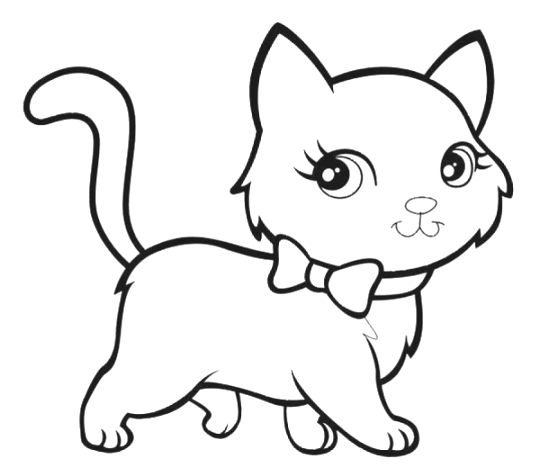 coloring pages of animals cats - photo#19