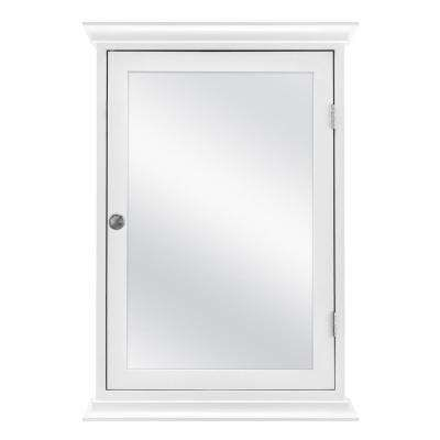 Home Decorators Collection 19 8 In X 28 2 In Fog Free Surface Mount Medicine Cabinet In White 83021 The Home Depot Surface Mount Medicine Cabinet Wall Mounted Medicine Cabinet Home Decorators Collection