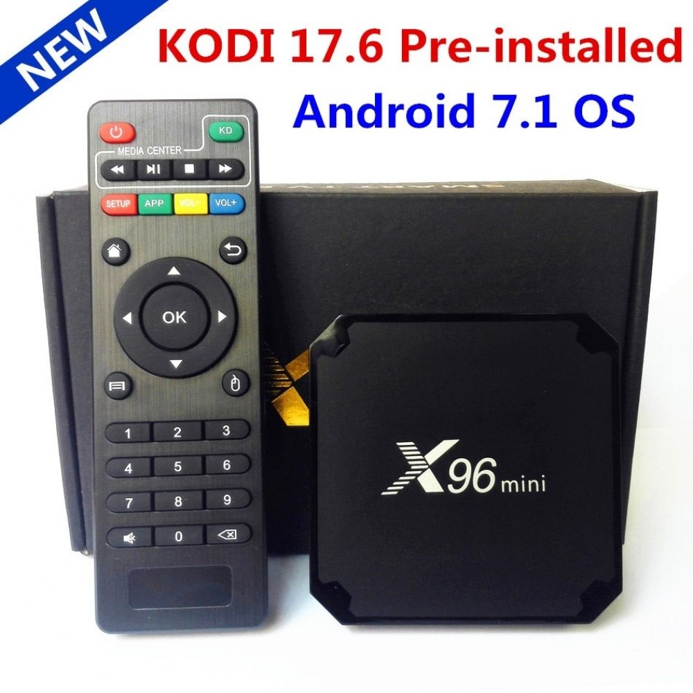 Android TV Box Satellite Receiver android 7.1 Smart Media