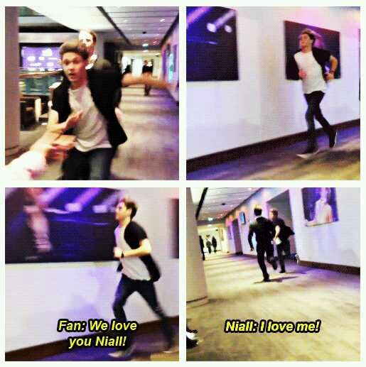 Niall is such a Niall girl