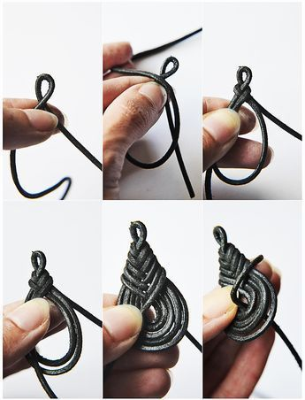 Photo of Crafts with leather Part 3: Braided earrings | Filizity.com