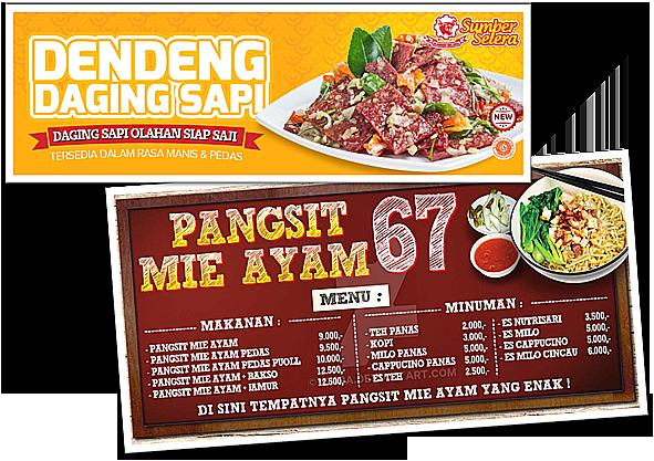 20+ Inspirasi Banner Mie Ayam Pangsit - Jeromesitaly