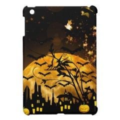 Flying Witch Harvest Moon Bats Halloween Gifts Case For The iPad Mini