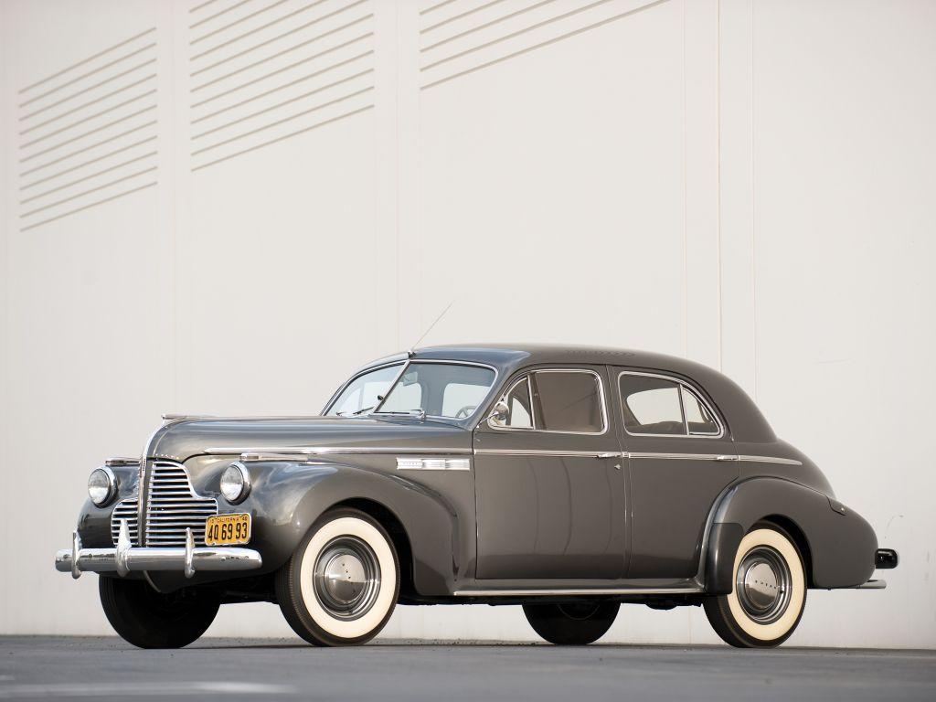 Buick super sedan 51 1940