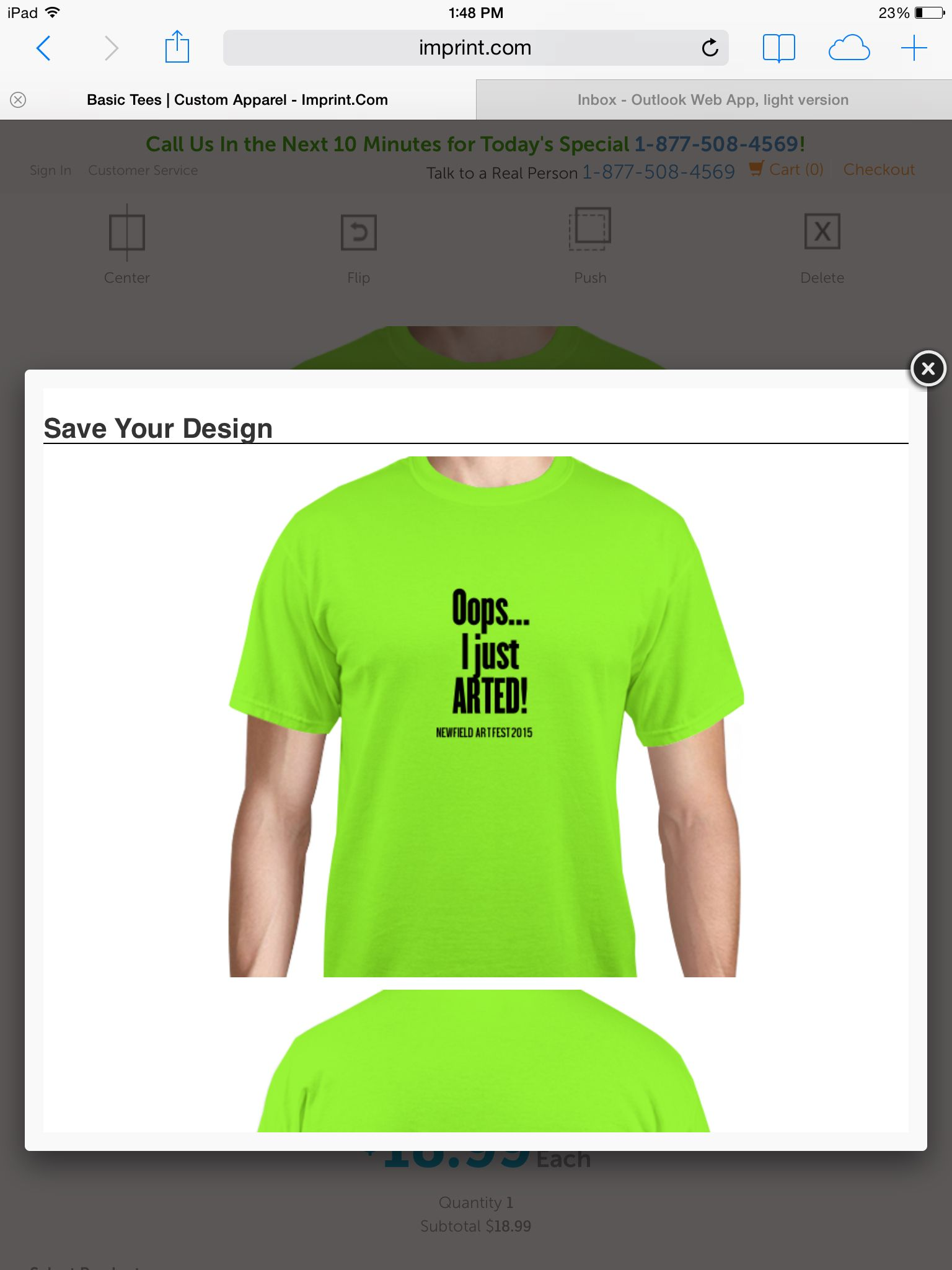 Is this too corny for t-shirts to sell ?!?! We can make them ourselves - and can teach a couple of you how to silk screen ( something you might want to learn to use in the future) if you don't like this idea upload another and share !