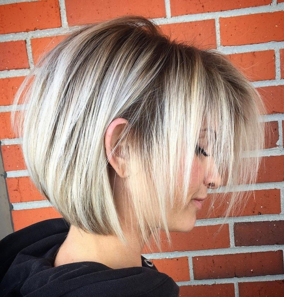 100 Mind Blowing Short Hairstyles For Fine Hair Bob Haircut For Fine Hair Haircuts For Fine Hair Bob Hairstyles For Fine Hair