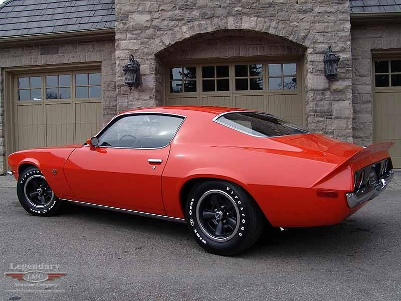 1970 Camaro We had a Candy Apple Red with gold metal