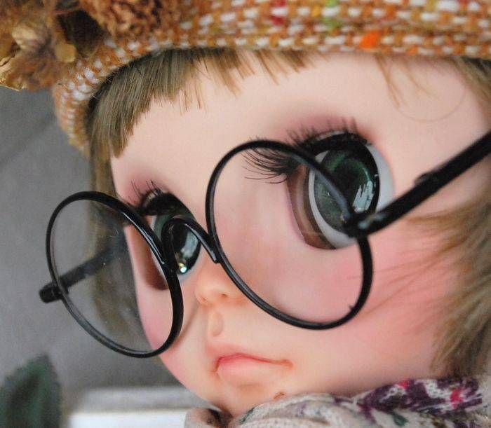 A Bookworm! Basara Custom Blythe Mori Girl   #rinkya #japan #fromjapan #blythe #customblythe #blythedolls #airfreshnerdolls