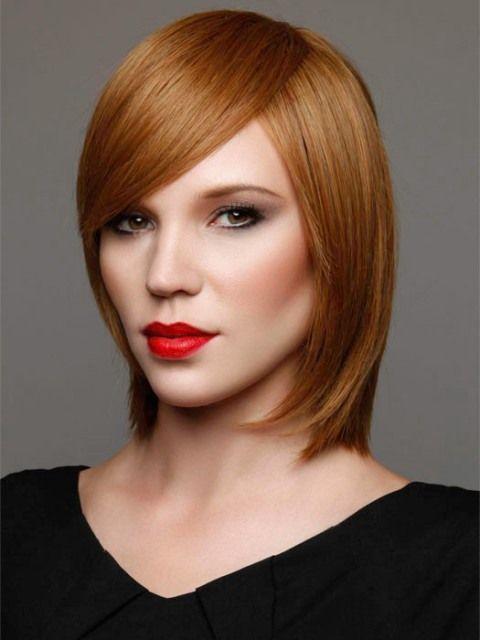 16 Striking Layered Hairstyles For Medium Length Hair