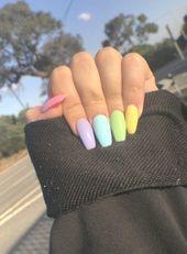 Photo of Acrylnägel Pastell Sommer Ob Sie lange oder kurze Nägel, Acryl oder Gel mögen …