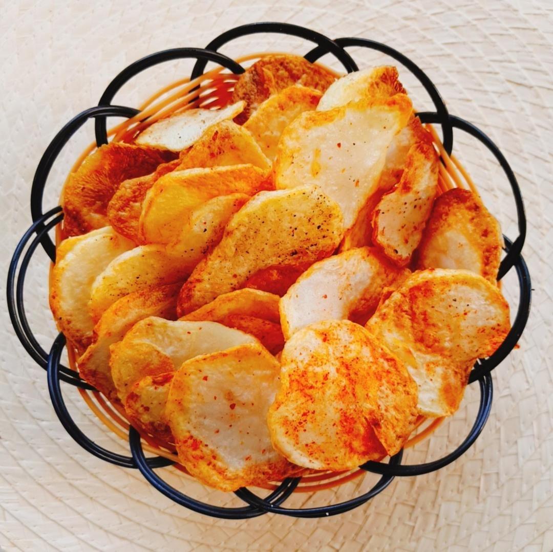 طريقة عمل شيبس صحي Recipes Snack Recipes Snacks