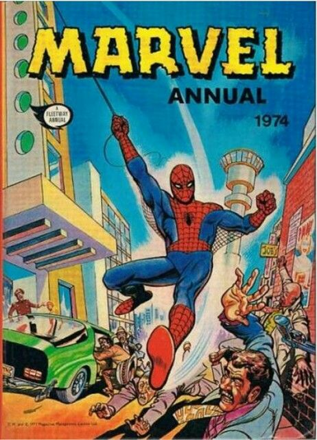 Marvel annual 1974