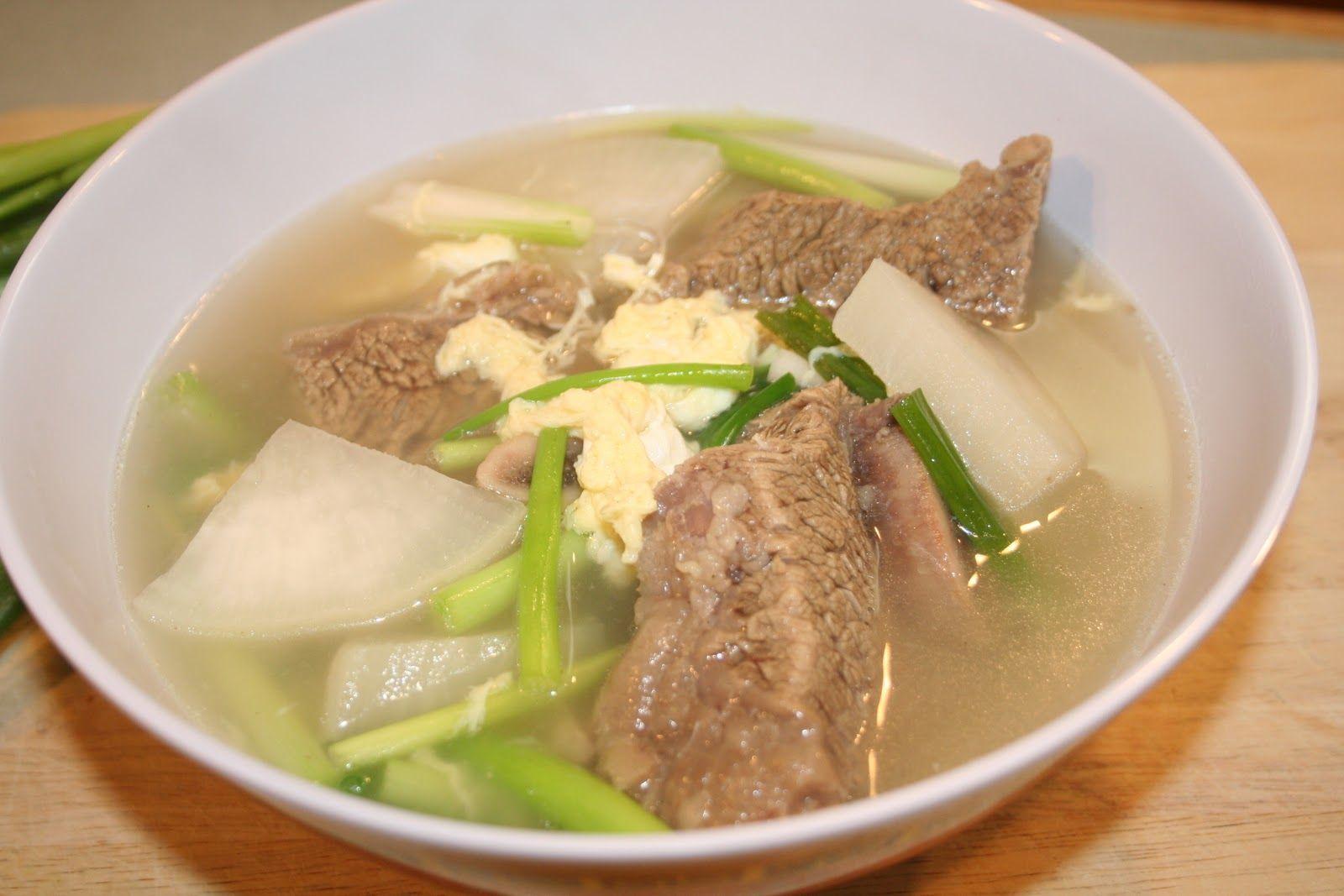 갈비탕 Kalbi Tang - Beef Rib Soup