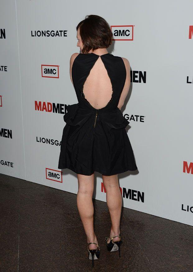 Elisabeth Moss In McQ Alexander McQueen – 'Mad Men' Season 6 Premiere / 80% OFF on Private Jet Flight! www.flightpooling.com  #madmen #luxury