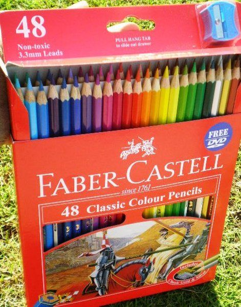 Faber Castell 48 Classic Colour Pencils Colored Pencils Faber