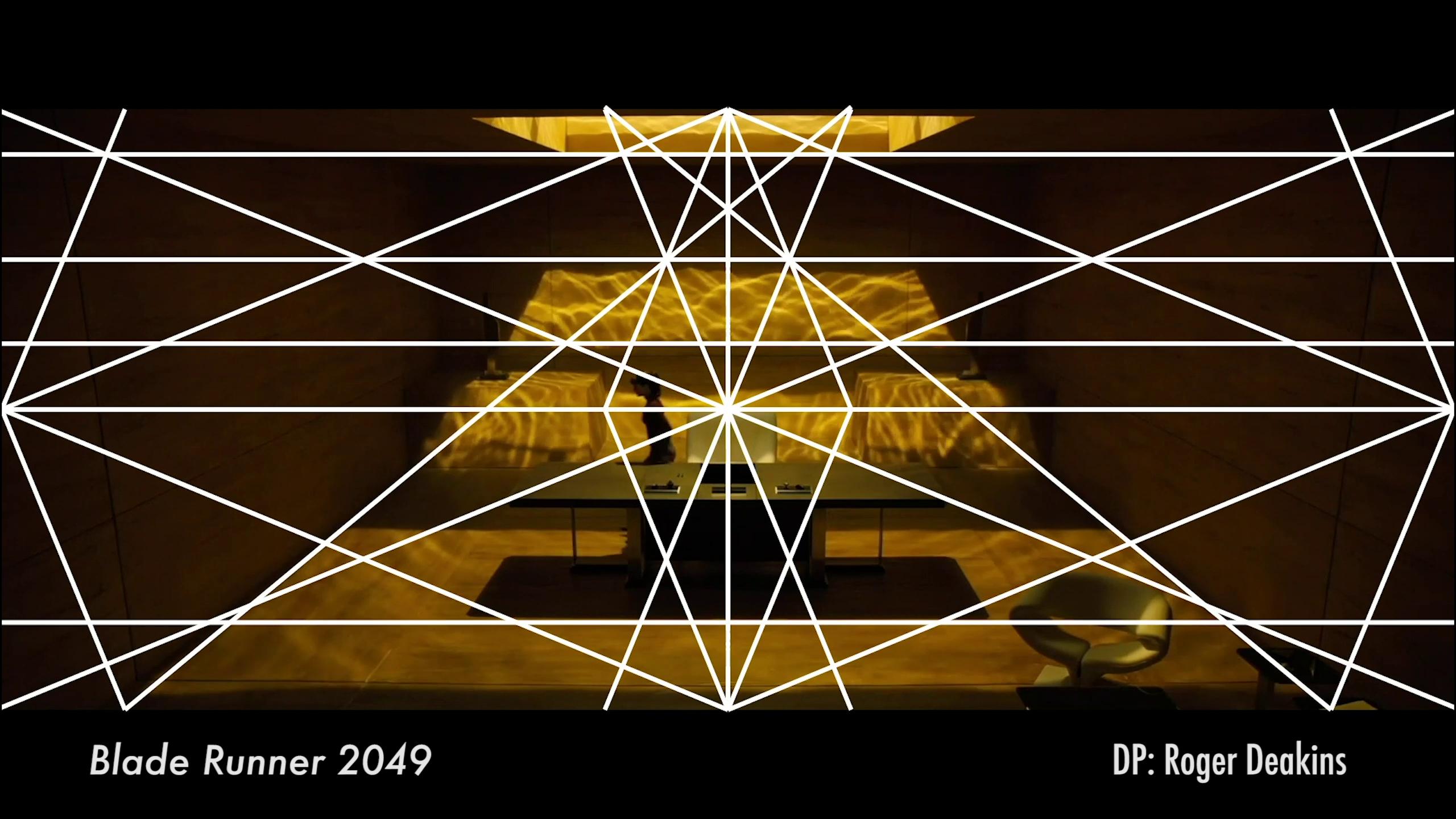 "Dynamic Symmetry Grid in ""Blader Runner 2049"" | Filmmaking, Roger deakins,  Symmetry"