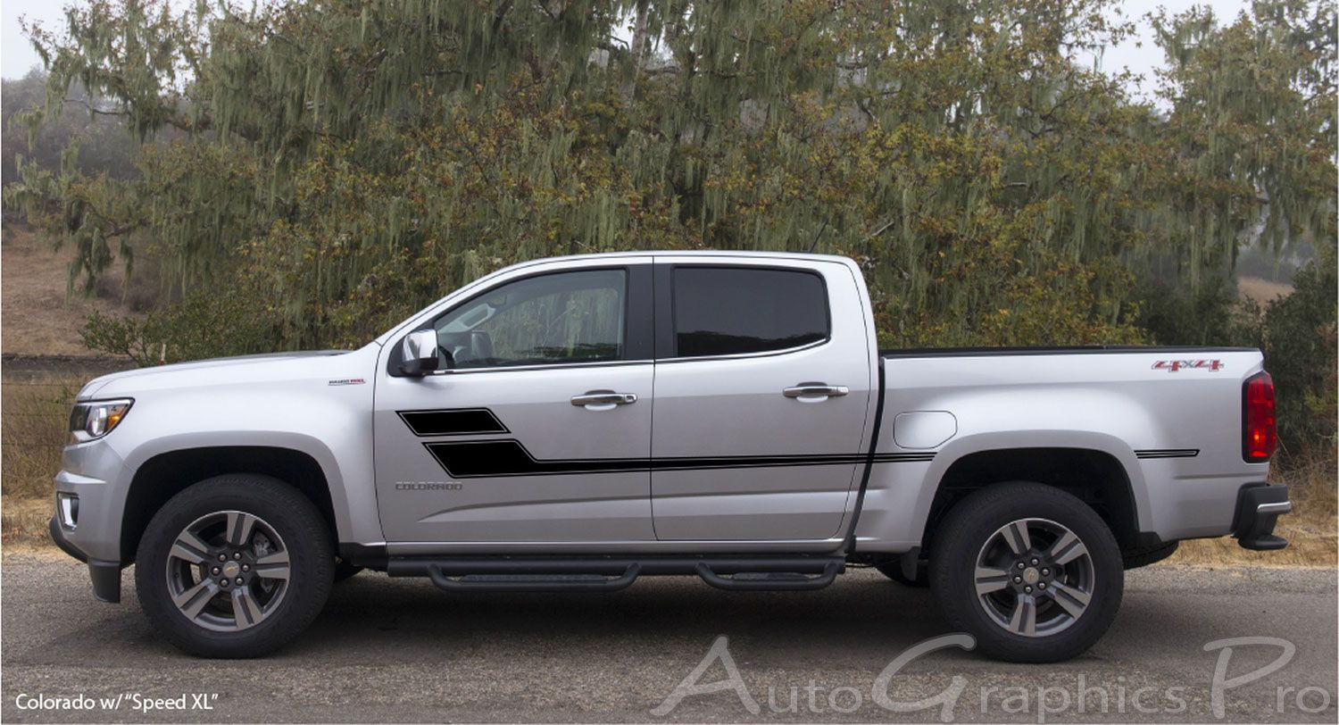 Speed Xl Chevy Colorado Or Gmc Canyon Truck Mid Body Line Door