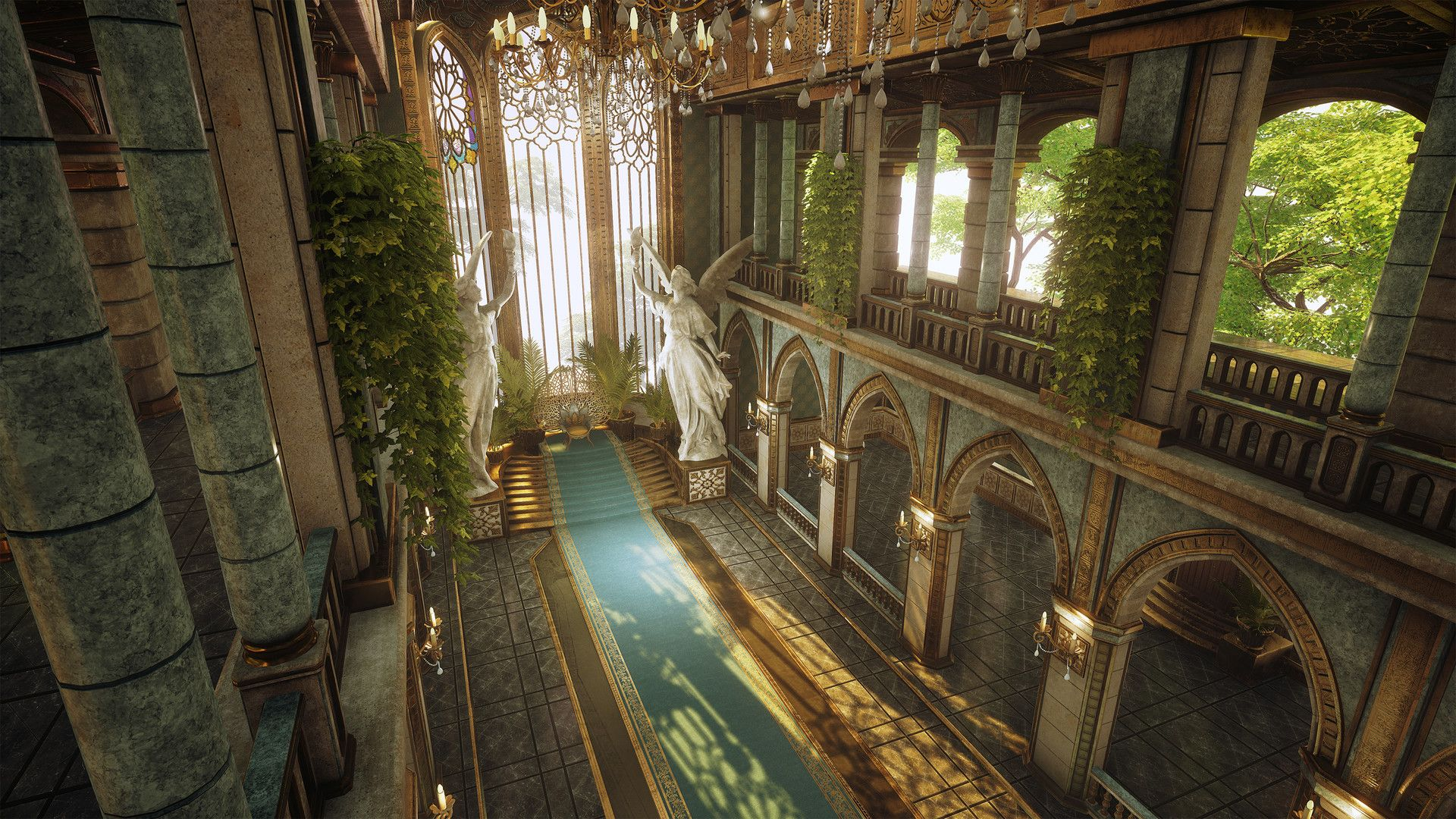Throne Room Inspired By Final Fantasy S Universe This