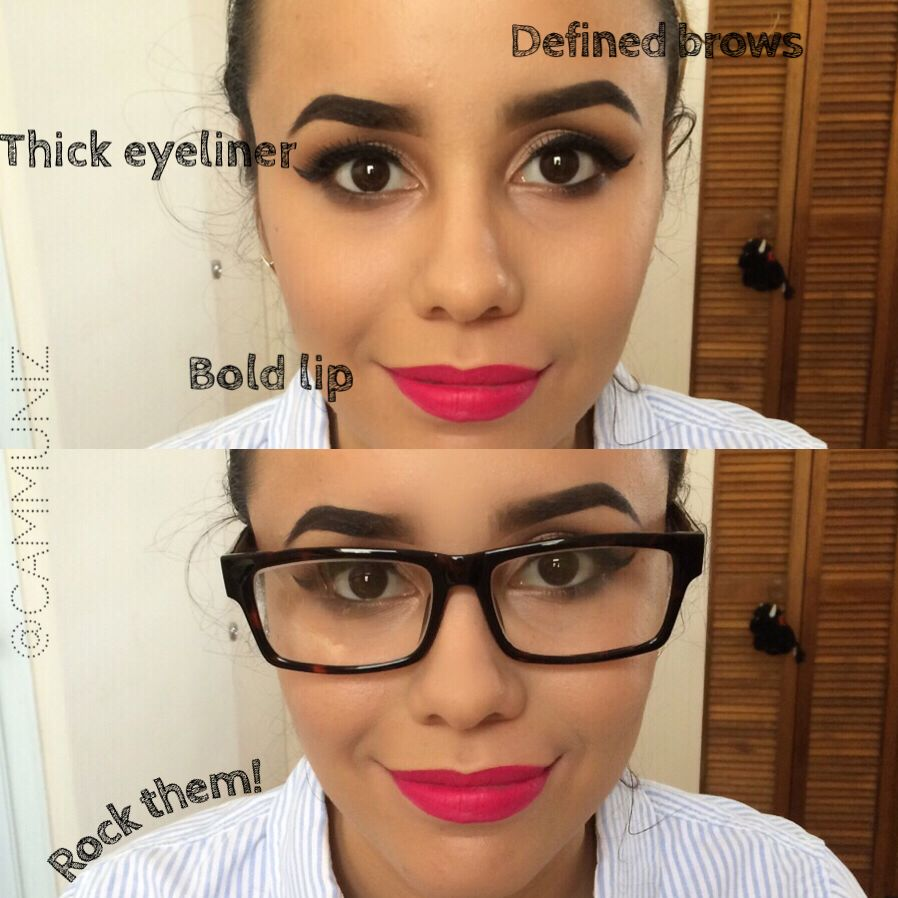 How To Wear Makeup With Glasses Glasses Makeup Hair Makeup Makeup For Blondes