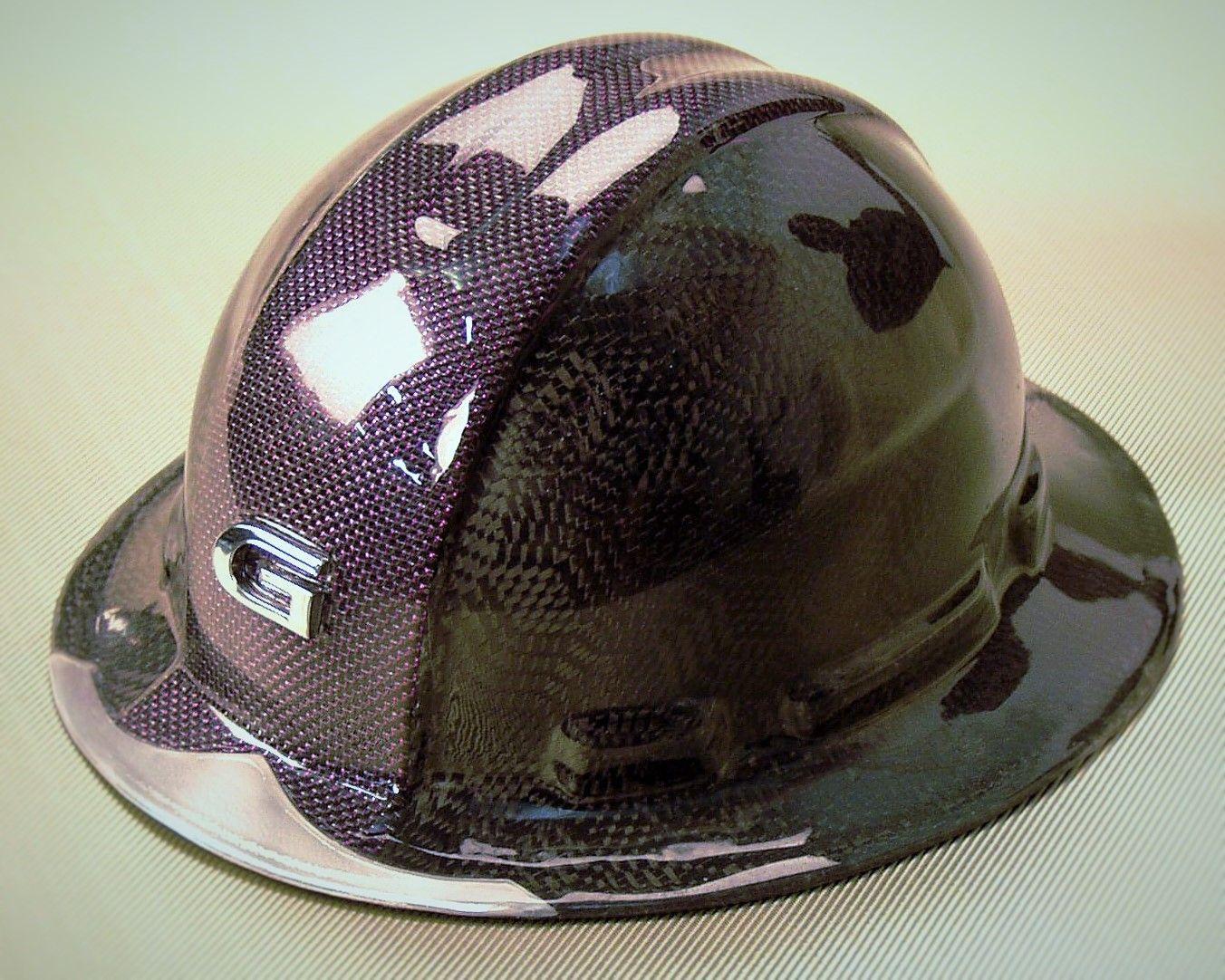 Carbon Purple P E T Hybrid Overlay Of Custom Weave Carbon Fiber