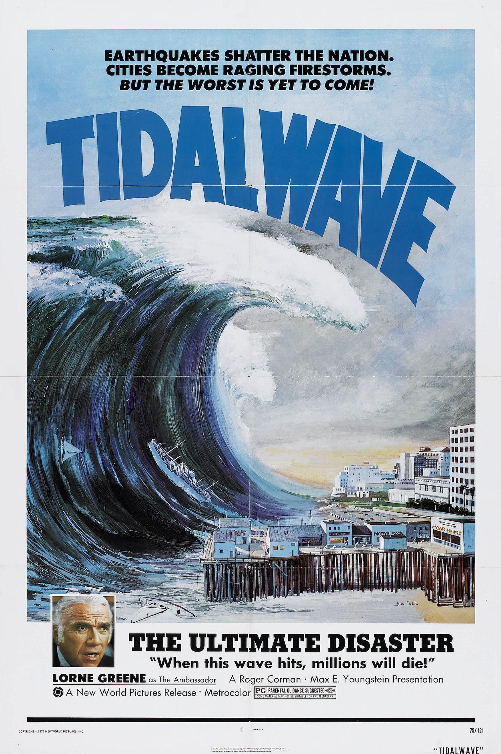Tidal Wave (1973) Movie posters, Waves photos, Movie