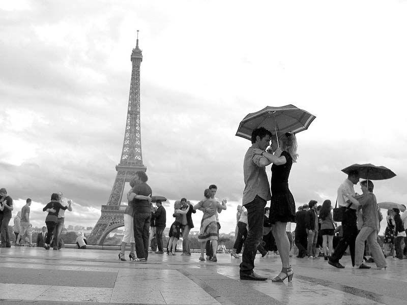 Танго картинка в париже