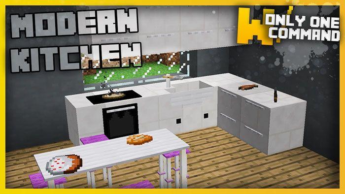 Modern Kitchen Command Block 1 11 2 Download Modern Kitchen