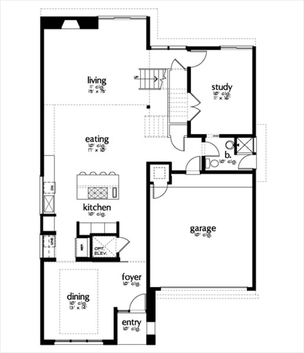 2d plan of modern houses modern house houseplans com plan 449 5 main floor study can be my modern house