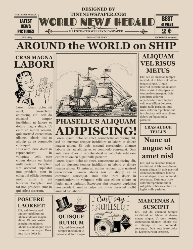 027 Newspaper Template For Microsoft Word Maxresdefault Old With Regard To Old Blank Newspaper Tem In 2020 Newspaper Template Newspaper Template Word Vintage Newspaper