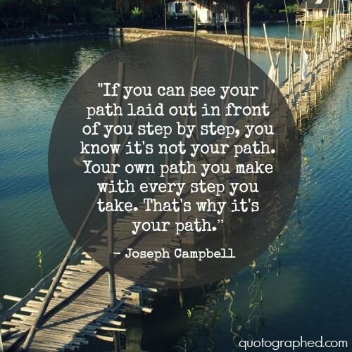 Joseph Campbell Quotes On Love: Joseph Campbell Quotes On Destiny