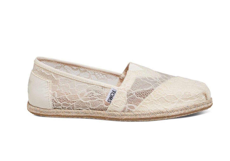 390f88f2b4181 TOMS TOMS White Lace Rope Women's Espadrilles Shoes. #toms #shoes ...