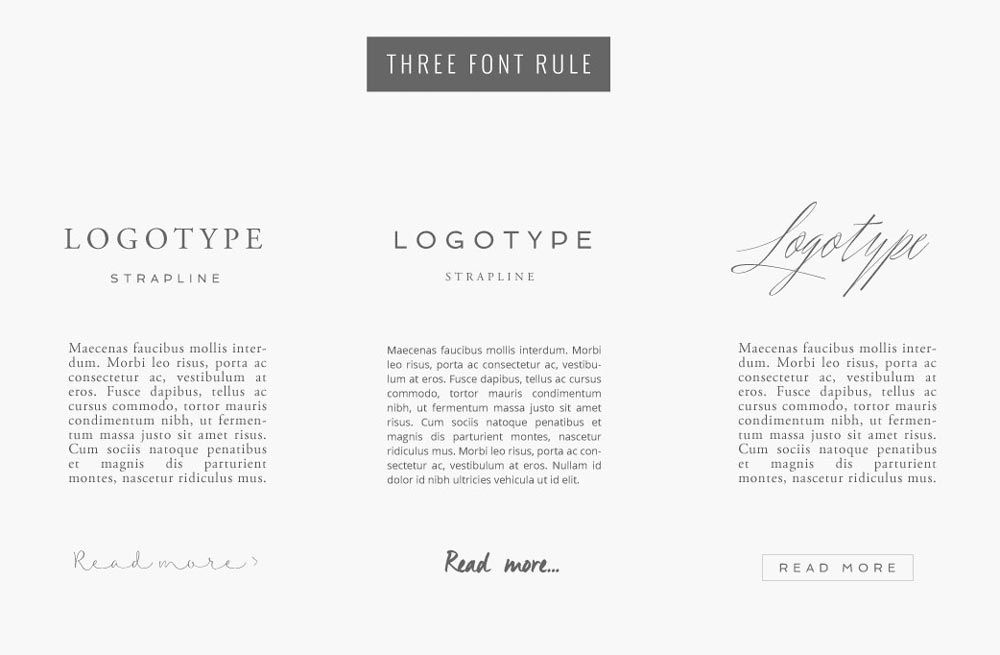 Best-3-Font-Rules-Design