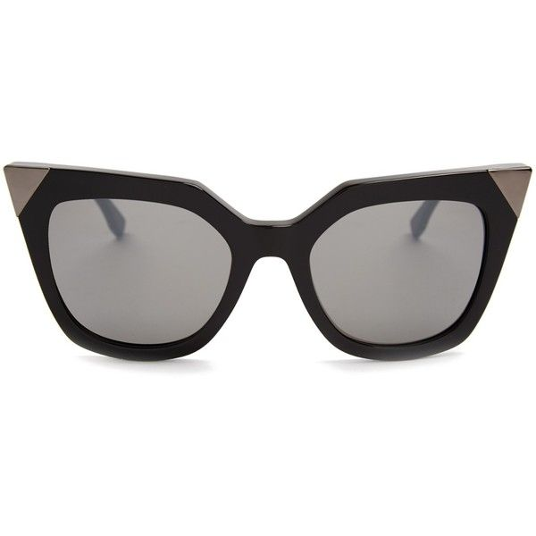 c98eafe780f7 Fendi Cat-eye acetate sunglasses (8.319.375 VND) ❤ liked on Polyvore  featuring accessories