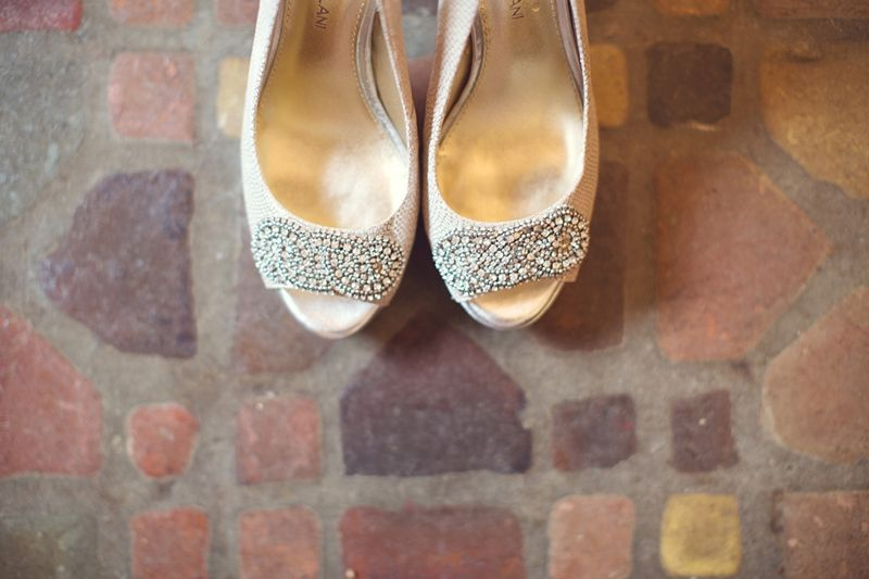 These shiny shoes pack a lot of sparkle!