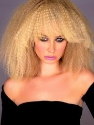 Crimped Hairstyle Ideas 80s Hair Crimped Hair Hairstyle