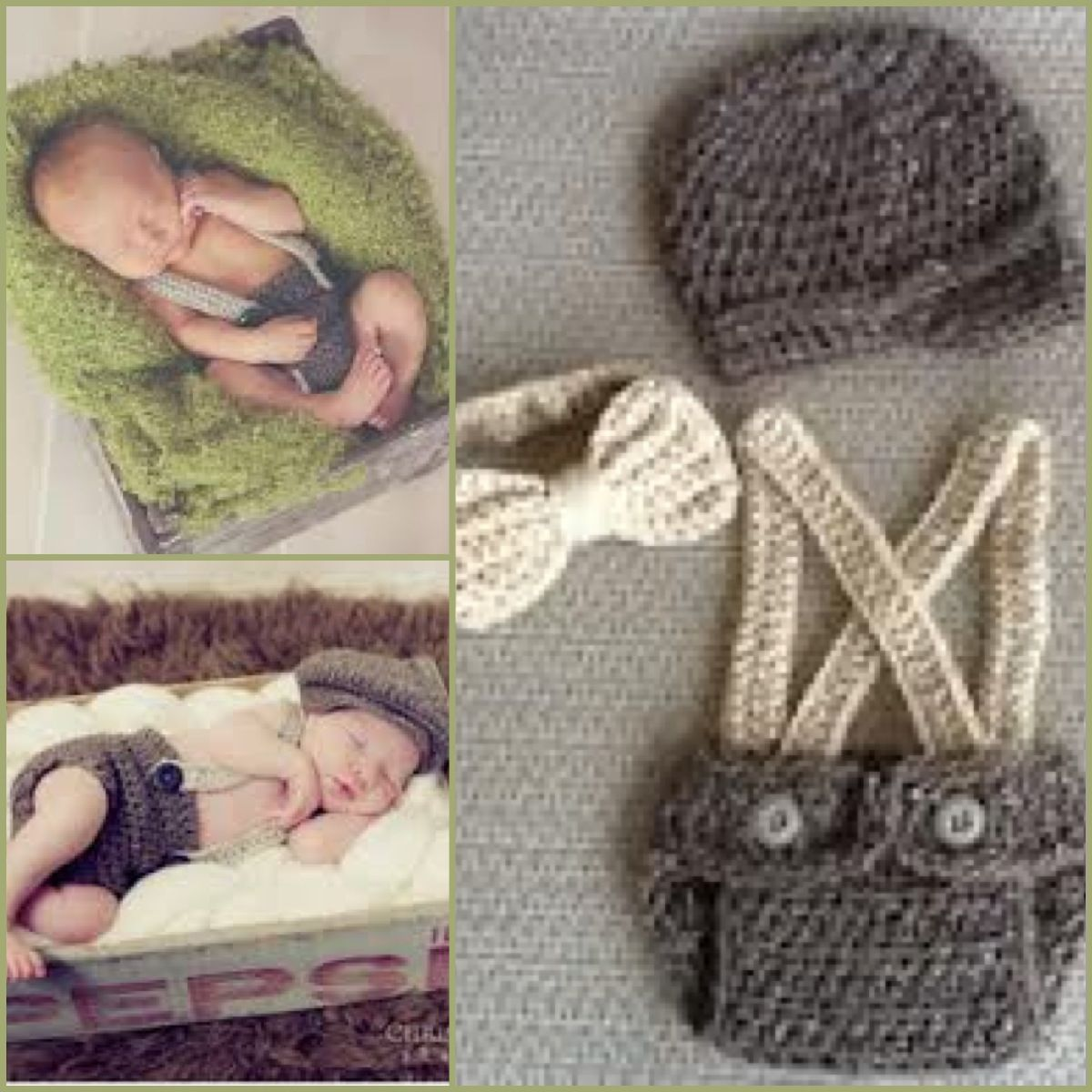 Crocheted Outfit For Baby Boy Crotchet World Crochet