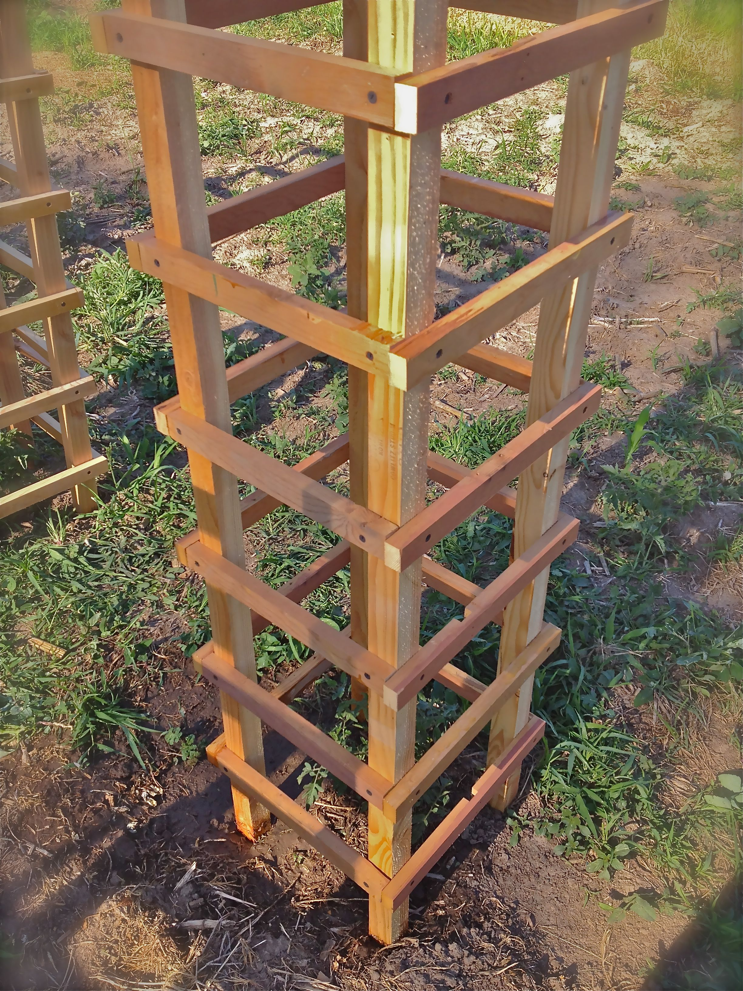 100 make your own trellis how to build a simple cucumber