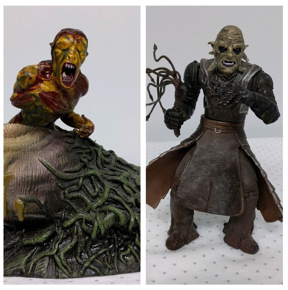 """Lord of the Rings Orc Overseer 6"""" Newborn UrukHai Egg"""