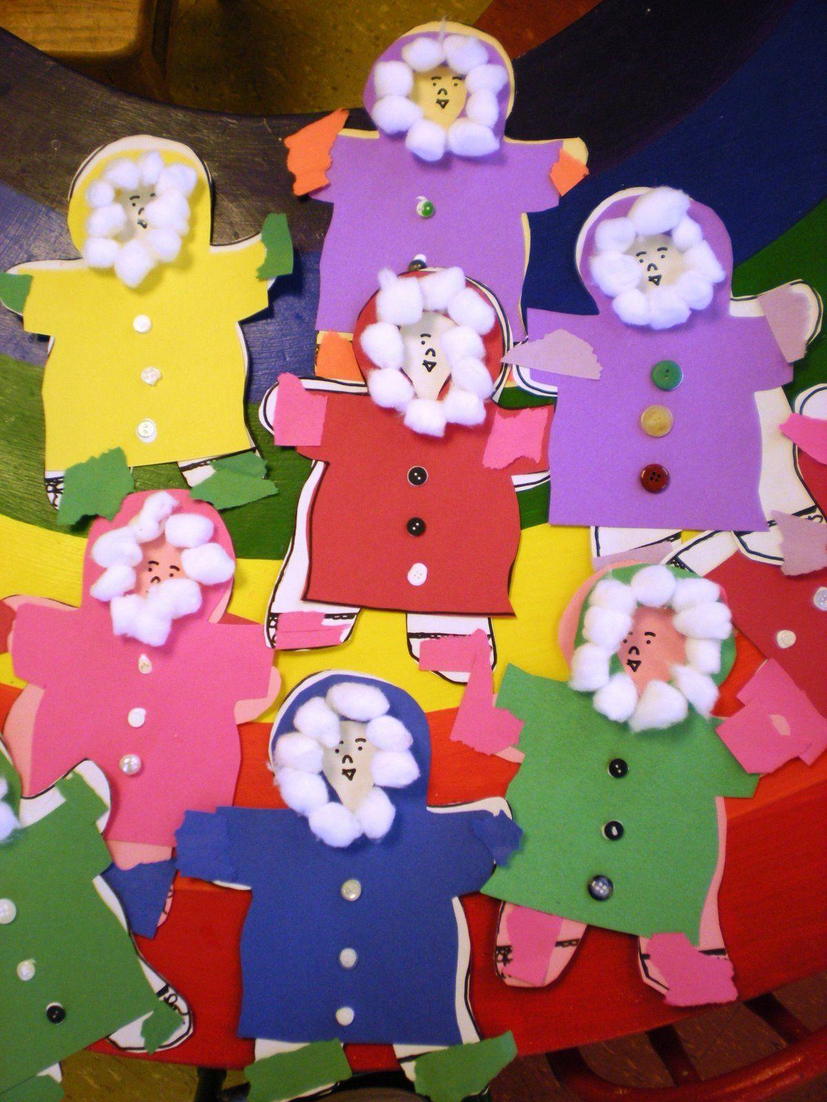 Winter Clothes Craft For Preschool Kids Preschool