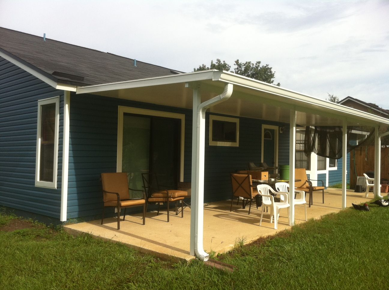 A full line of patio covers & carport kits, designed to