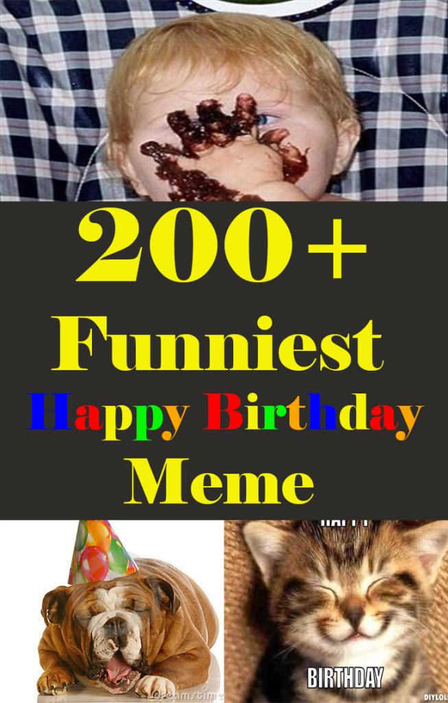 200+ Funniest Happy Birthday Memes
