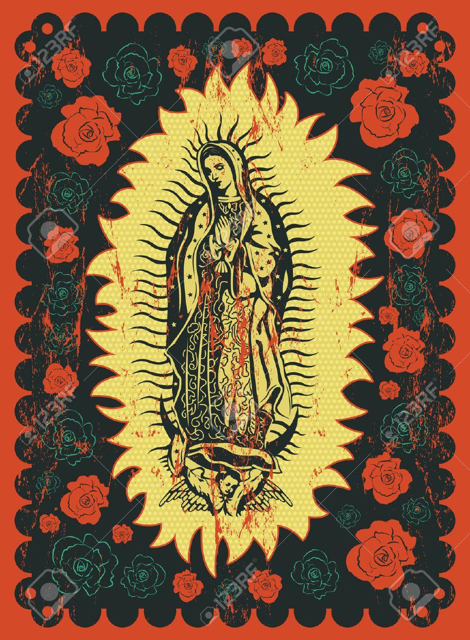maria guadalupe mexican - Szukaj w Google | Arte Popular Mexicana ...