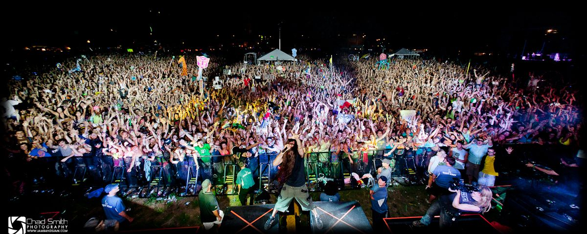 Bassnectar Family Photo - North Coast Music Festival Labor Day Weekend 2011