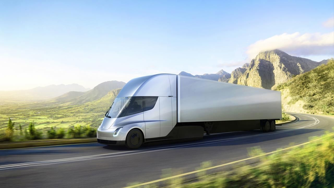 Will Tesla S Big Rig Reveal Transform The Trucking Industry Tesla Semi Truck Electric Truck Semi Trucks