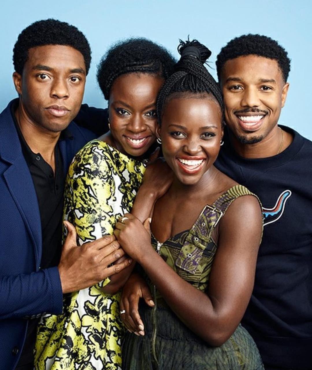Ohana Means Family Wakanda Means Michaelbjordan Danaigurira Chadwickboseman Lupitanyongo Blac Black Panther Black Panther Party Black Panther Marvel